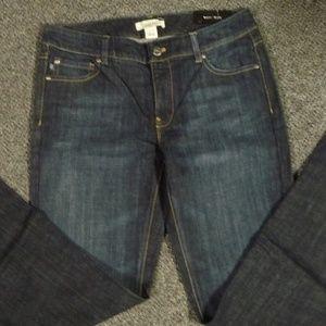 NWT WHBM Blanc Jeans Size 8 Short Denim